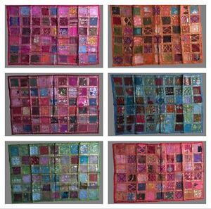 Indian Tapestry Wall Hanging Table Runner Patchwork ethinic Sari work UK SELLER
