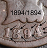 1894/1894 INDIAN HEAD CENT - FULLY REPUNCHED DATE - RED BOOK TOP 10 VARIETY!