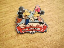 Ohio District 3 Mickey and Minnie Mouse Little League Pin