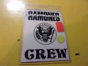 RAMONES HALFWAY TO SANITY CREW