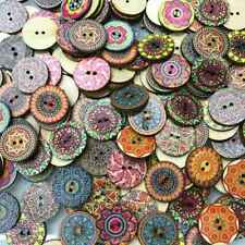 """Lot of 10 KNOTBOW Laser Etched 2-hole Wood Buttons 3//4/"""" Scrapbook Craft 1003"""