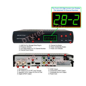 Professional Digital ATSC HD TV Tuner For Air Broadcast Channels