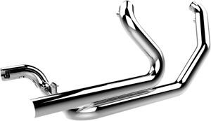 Khrome Werks Chrome 2-2 Dual Header System for 09-16 Harley Touring FLHR FLHX