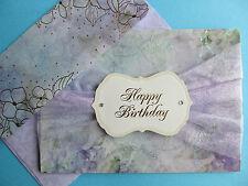 Greeting Card, Happy Birthday, Burgoyne Handmade