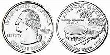 2009 P American Samoa DC & Territories Quarter Brilliant Uncirculated Coin