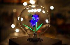 SELTENE Glimm G80 Blumen Lampe E27 3-5W Glühbirne Blumen Decor FLOWER LIGHT BULB