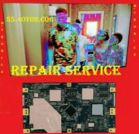 AUO T-CON T400HW01 V3    40T02-C05     55.40T02.C06    REPAIR SERVICE
