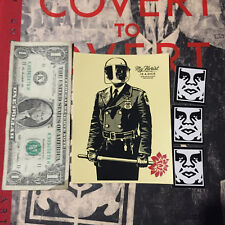 """SHEPARD FAIREY Obey Giant Sticker 4 X 5.5"""" My Florist Is A Dick poster print"""