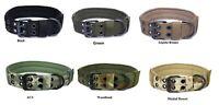 Tactical Scorpion Gear Dog Collar Canine K9 Training Walking Military- Nylon