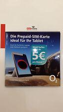 o2 Go Prepaid Surf SIM + Top Konditionen + bis zu 7,5GB , ORIGINAL O2 NANO SIM