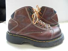 Dr. Martens~Brown Leather Ankle Boots size 6 M
