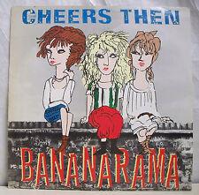 45T MAXI BANANARAMA Disque Vinyl CHEERS THEN - NANX 3 EX Frais Reduit