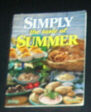 Simply The Taste of Summer John West Cookbook
