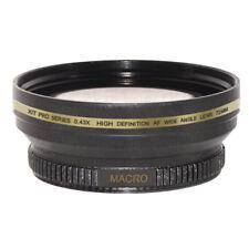 72mm 0.43x Wide Angle Lens + Macro fo PANASONIC DVX100B,DVX100,AG-HMC150 camcord