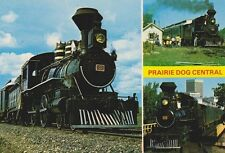 "*Postcard-""Locomotive Prairie Dog Central"".pulled by City of Winnepeg- (B369)"