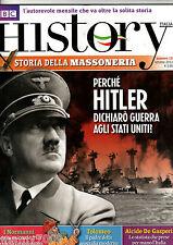 BBC HISTORY ITALIA=N°18 10/2012=HITLER=I NORMANNI=TOLOMEO=ALCIDE DE GASPERI