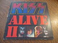album 2 33 tours KISS alive II