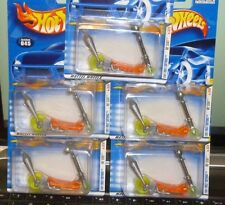 OVERSTOCK SALE LOT of 5 - 2011 HOT WHEELS FIRST EDITIONS #45 - MO' SCOUT SCOOTER