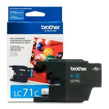 Genuine Brother LC71 Cyan ink LC 71 LC71C J425W J430W J435W J625DW J825DW J835DW