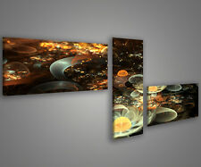 Quadri moderni 180 x 70 stampe su tela canvas intelaiate design moderno MIX-S_11