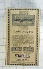 1927 Staples Mattress, Cricklewood Works