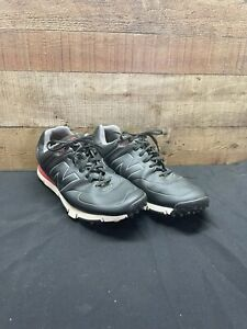 New Balance 574 Golf Shoes Gray/Red Men's Golf Clothing & Shoes Size 12