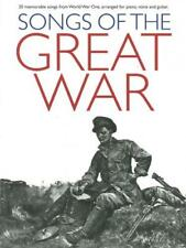 Songs of the Great War (Pvg (album) - Piano / Vocal / Gui... HLE9000484