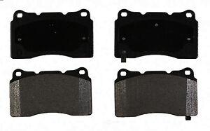 Disc Brake Pad Set fits 2012-2016 Tesla S  ACDELCO PROFESSIONAL BRAKES