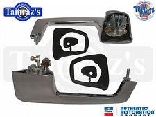 66-67 Mopar B Body Outside Door Handle Chrome Button Made in USA