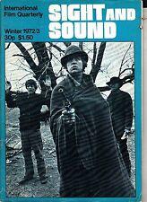 Sight and Sound Winter 1972/3 Josef von Sternberg Finland A Clockwork Orange