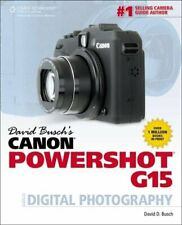 David Busch's Canon Powershot G15 Guide to Digital Photography by Busch New,.