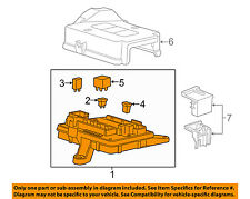 chevrolet gm oem 16-17 camaro-fuse box-fuse & relay box 84044726 (fits: 2016  chevrolet camaro)