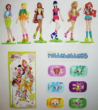 WINX CLUB COMPLETE SET WITH ALL PAPERS KINDER SURPRISE 2009 FERRERO