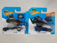 Hot Wheels Batman Live Batmobile & Bat-Pod Die Cast Bundle Free Postage