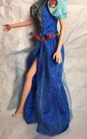 Barbie Bratz Dolls Fashion Vintage Disney Princess Blue Dress