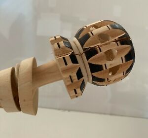Tumia Hand Carved Molinillo Mexican Wooden Whisk for Hot Chocolate - Second