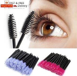 Disposable Mascara Eyelash Eyebrow Wands Multi Brushes Lash Extension Aplicator