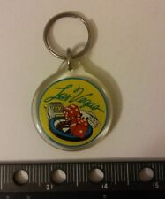Vintage Las Vegas Keychain Key Ring Collectible Gift DICE SLOTS ROULETTE CRAPS