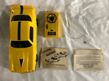 Latrax Vintage Radio Remote Controlled Camaro Z28 Rc Car Yellow and Blue