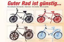 Hobbyfun Fahrrad verschiedene Farbe Gardening Geldgeschenke Miniaturfahrrad Deko