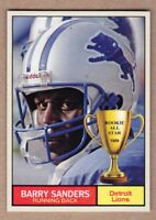 Barry Sanders '89 Detroit Lions rookie season Monarch Corona Rookie All Star #20