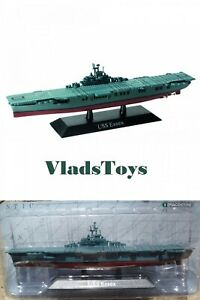 DeAgostini 1/1250 US Navy aircraft carrier USS Essex 1942 DAKS06