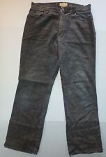 JouJou Corduroy Pants Junior 11/12 Gray Texture Straight Leg Casual vintage