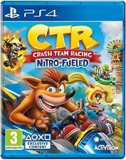 CRASH TEAM RACING CTR Nitro-Alimenté PS4 Game Sony PlayStation 4-Nouveau UK Gratuit p&p