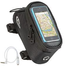 Support etui smartphone bicyclette sacoche vélo sac housse téléphone S noir