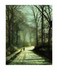 Paper Landscape Art Prints