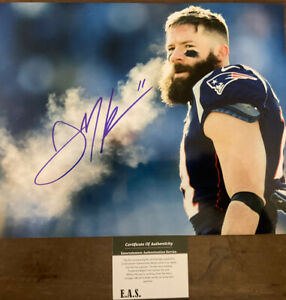 Julian Edelman New England Patriots Signed 8x10 Photo W/COA