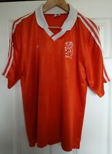 HOLLAND FOOTBALL SHIRT CIRCA 1990 1992 ADIDAS OFFICIAL REPLICA PERIOD SIZE 42 44