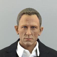 NEW 1/6 James Bond 007 Agent Headplay Daniel Craig Head Scuplt