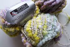 750 g Baldini Colori smc select WOLLE Pastell HELLGRAU WEISS 01217 Merino Bougle
